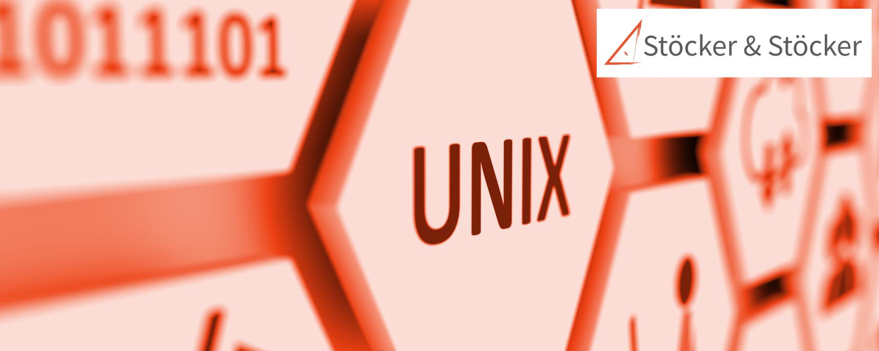Unix concept cell blurred background 3d illustration